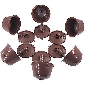 6 Pcs Rechargeable Coffee Capsules - Compatible With Nescafe Dolce Gusto Mini Me Piccolo Genio Esperta Circolo