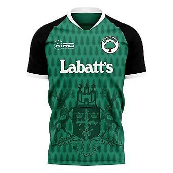 Nottingham 2020-2021 Away Concept Football Kit (Libero) - Adult Long Sleeve