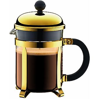 BODUM 1924-17 Chambord Coffee Maker, 4 Cup, 0.5 Litre, Gold