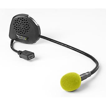 Twiins D1VA Hands Free Motorcykel Scooter Bluetooth Telefon GPS Head Set