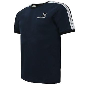 Sergio Tacchini Mens Dalhoa T-Shirt Casual Lounge Top Navy 38357 204