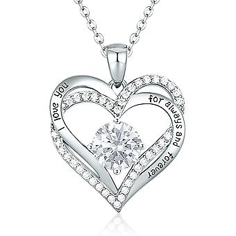 CDE Forever Love Heart Necklaces Jewellery for Women