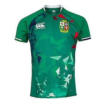Canterbury Brittiska & Irish Lions Rugby Training Jersey | Mens | Bosporen Grön | 2021