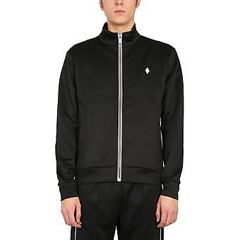 Marcelo Burlon Cmbd007r21jer0011001 Men's Black Polyester Sweatshirt