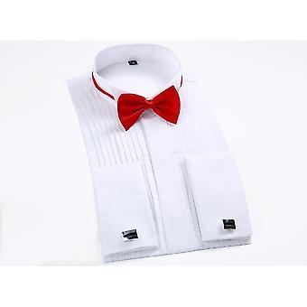 Blusa de festa de casamento de luxo de manga longa fit plus size