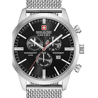 Mens Watch Swiss Military Hanowa 06-3308.04.007, Quartz, 44mm, 10ATM
