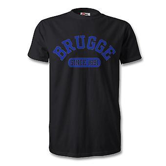 Club Brugge 1891 perustettu Football t-paita