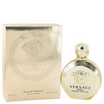Versace Eros Eau De Parfum Spray von Versace 3.4 oz Eau De Parfum Spray