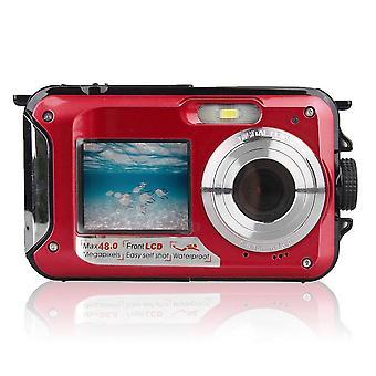 48mp Waterproof Digital Camera Dual Screen Video Camcorder Camera
