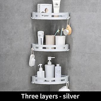 Alumiininen kylpyhuone hylly suihku, shampoo, saippua, kosmeettiset hyllyt, kylpyamme