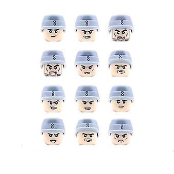 Military Minifigures Blocks, Soldier Action Figure Bricks Toy