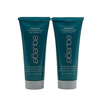 Aquage Volumizing Conditioner Fine & Limp Hair 1.5 OZ Set of 2