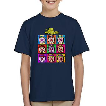 The Magic Roundabout Brian Pop Art Kid's T-Shirt