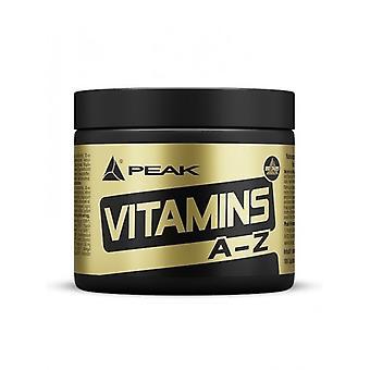 Peak Vitamins A-Z 180 tablets