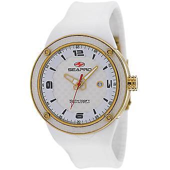 Seapro Driver Quartz White Dial Men's Watch SP2115