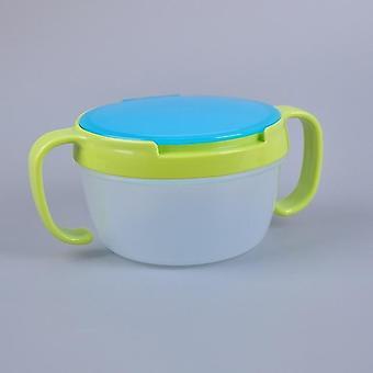 Tigela infantil bebê, pratos de lanche, copo de silicone, criança criança alimentando prato de comida