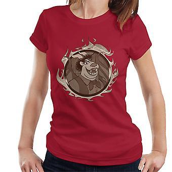 Pixar Onward Corey The Manticore Women's T-Shirt