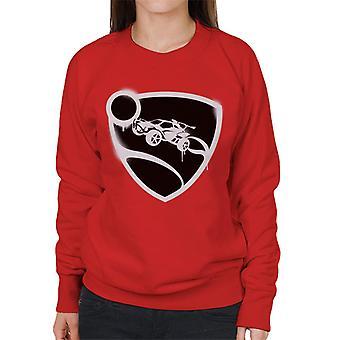 Rocket League Spray Painted Logo Kvinnor & s Sweatshirt