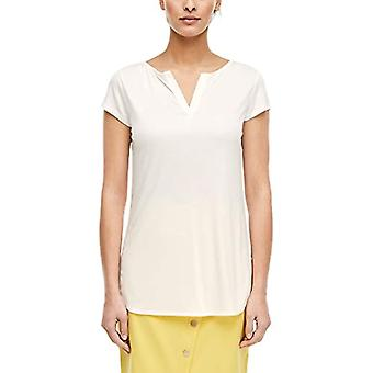 s.Oliver BLACK LABEL 150.10.003.12.130.2040795 T-Shirt, Cream, 46 Woman