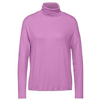 Street One 315733 T-Shirt, Sweet Lilac Melange, 46 Woman