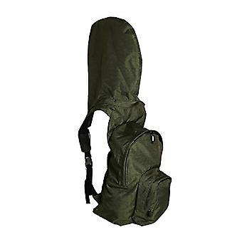 MorikukkoMorikukko Hooded Backpack Kool Green KhakiUnisex - AdultZigreenZaini (Kool Green Khaki)33x8x40 Centimeters (W x H x L)