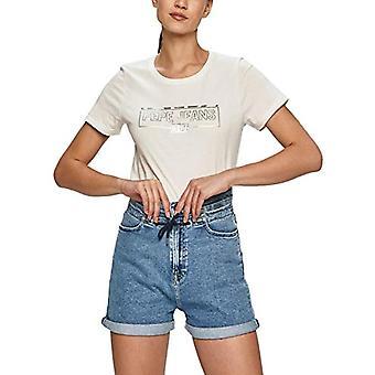 Pepe Jeans Betty T-Shirt, 803OFF Blanc, Moyen Femme