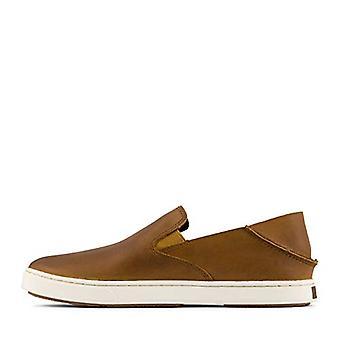 OluKai Womens Pehuea Fabric Low Top Slip On Fashion Sneakers