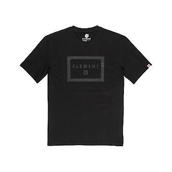 Element Banzer Short Sleeve T-Shirt in Flint Black