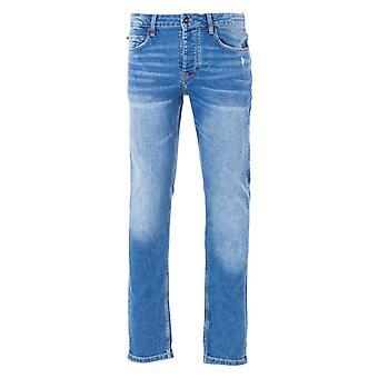 Luke 1977 Vacuums Slim Tapered Fit Jeans - Mid Vintage Blue