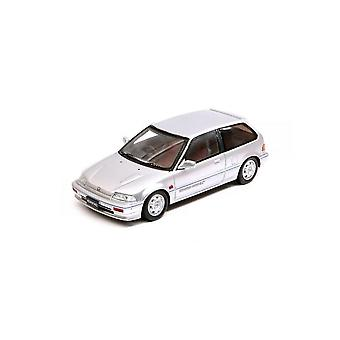 Honda Civic Si (1987) in Silver (1:43 scale by Spark S5450)
