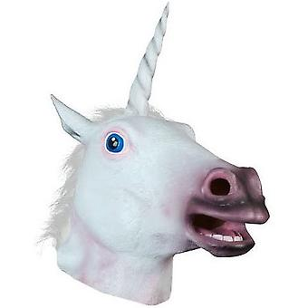 Unicorn Head Mask Cosplay Costume Party For Halloween Masquerade
