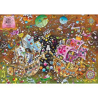 Clementoni Mordillo De kus legpuzzel van hoge kwaliteit (6000 stukjes)