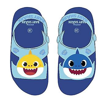 Children's sandals Baby Shark Dark blue