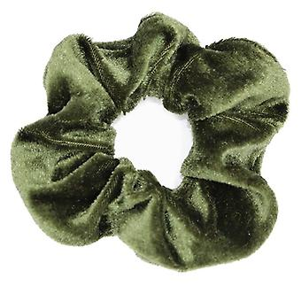 Damen Winter Velvet Scrunchies Haarbänder
