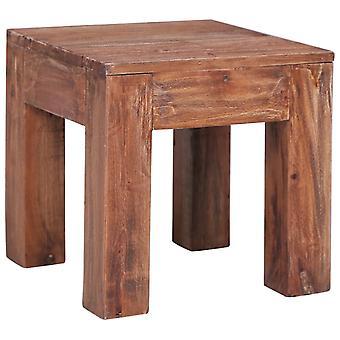 tavolino vidaXL 30x30x30 cm legno di scarto solido