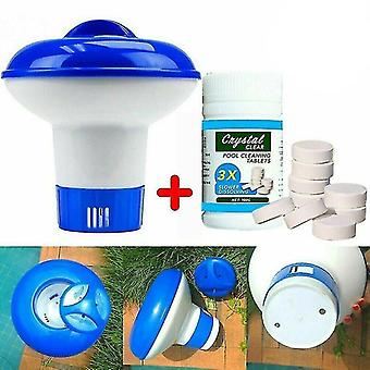 Swimming Pool Cleaning Tool Tablets Disinfection Pills Chlorine tablets Instant Effervescent Pipes