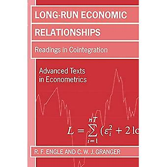 Long-Run Economic Relationships: Readings in Cointegration