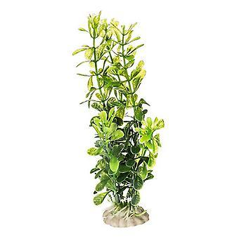 "Aquatop Plastic Aquarium Plants Power Pack - Rich Green - 10 Pack - (5"" High Plants)"