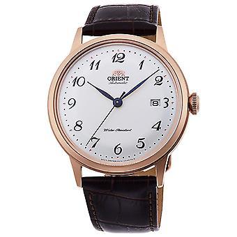Homens de ouro rosa relógioswo47303