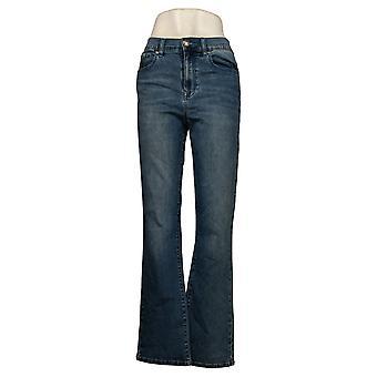 DG2 von Diane Gilman Damen Jeans Bootcut Verschönert Blue 679843