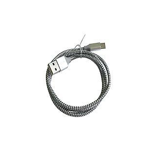 Homemiyn Usb Cable de carga con tipo C Nylon trenzado dragón patrón de datos Cable golden dragon patrón tipo c