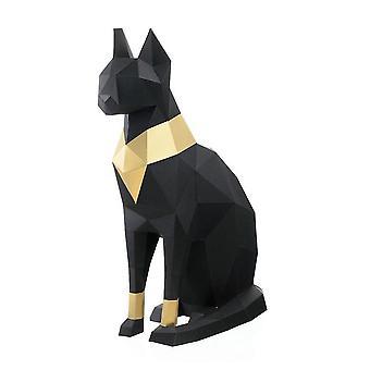 Venalisa Egyptian Cat God 3d Papercrafts, Cute Animals Arts And Crafts Diy Kits 3d Origami Paper Puzzle Art Craft Kit