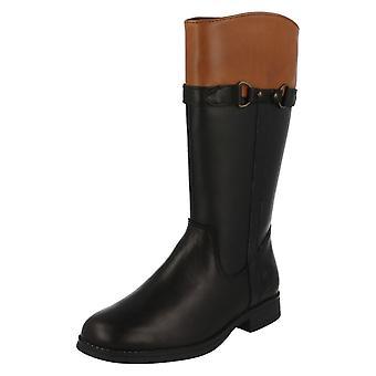 Girls Clarks Gore-Tex Knee Length Riding Boots SamiMa GTX