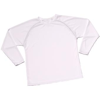 Cliff Keen MXS Loose Gear Long Sleeve Technical Shirt - White