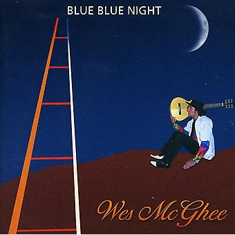 Wes McGhee - Blue blauwe nacht [CD] USA import