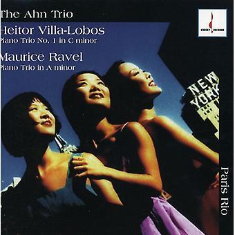 Villa-Lobos/Ravel - Paris Rio [CD] USA import