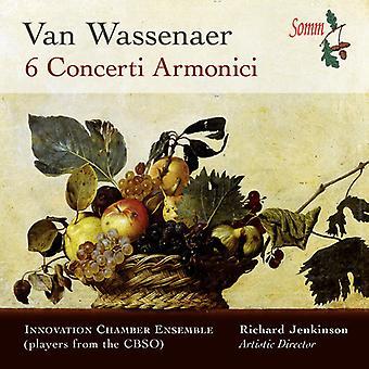 Van Wassenaer / Innovation Chamber Ensemble - 6 Concerti Armonici [CD] USA import