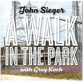 John Sieger - Walk in the Park [CD] USA import
