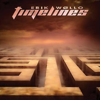 Erik Wollo - Timelines [CD] USA import