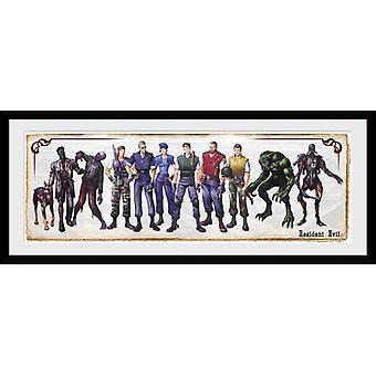 Resident Evil Concept Art Framed Collector Print
